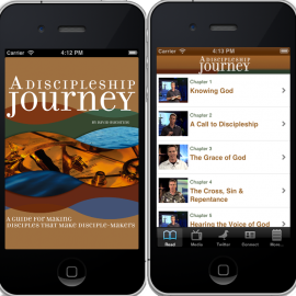 A Discipleship Journey iPhone App